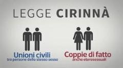 Unioni Civili. Informativa Legge n.76/2016