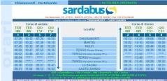 Orari Sardabus tratta MARTIS-CASTELSARDO